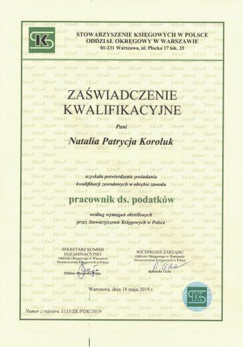 certyfikat5.0
